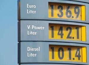 benzine-prijzen